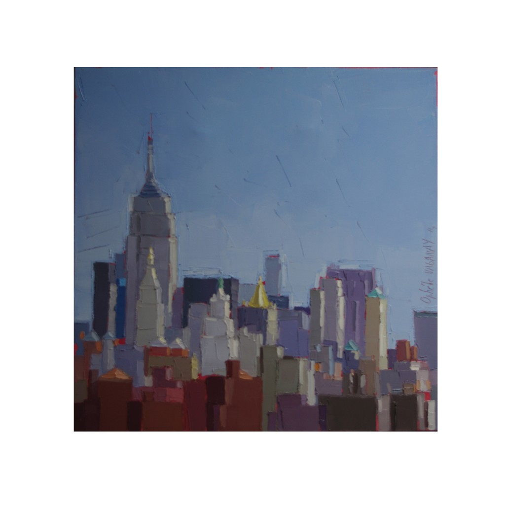 EMPIRE STATE BUILDING 60X60 vendu