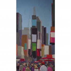 TIME SQUARE 50×100 vendu