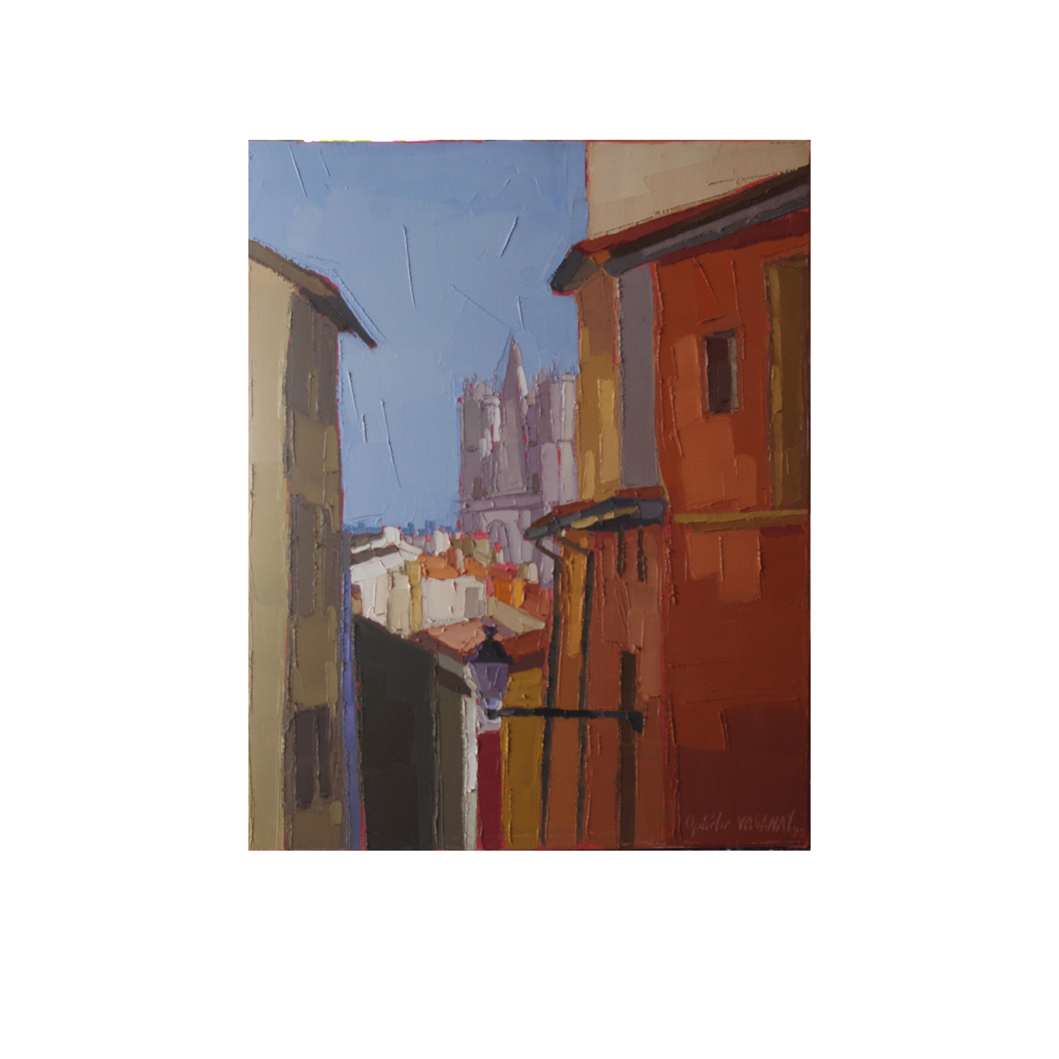 MONTEE DU GOURGUILLON 40×50